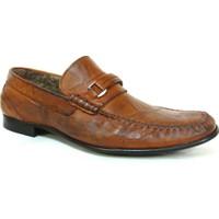 Berfo 4538 Kahverengi Bağcıksız Erkek Ayakkabı