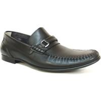 Berfo 4538 Siyah Bağcıksız Erkek Ayakkabı