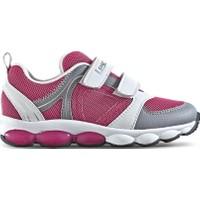 Lescon Pembe Beyaz Cırtlı Çocuk Spor Ayakkabısı