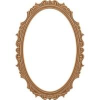 ASEH 8207 Papatya Ovel Ayna Çerçevesi