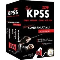 Yargı Yayınları 2018 KPSS Maestro Genel Yetenek Genel Kültür Konu Anlatımlı Modüler Set
