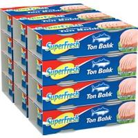 SuperFresh Ton Balığı Ayçiçek Yağlı 160 gr x 24 Adet