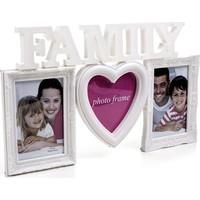 Family Kalpli Plastik Fotoğraf Çerçevesi