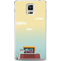 Exclusive Samsung Note 4 çizgi Ev Design Kapak Fiyatı
