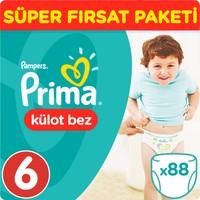 Prima Pants Külot Bebek Bezi Ekstra Large Süper Fırsat Paketi 88 Adet.
