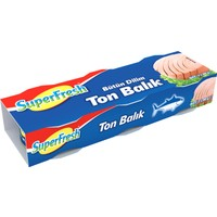 Superfresh Ton Balığı 80 gr x 3 Adet