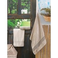 Cotton Box Tek Kişilik 3 Lü Bambu Havlu Seti Krem&Toprak&Bej
