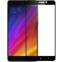 Case 4U Xiaomi Mi 5S Plus Full Kapatan Cam Ekran Koruyucu Siyah*