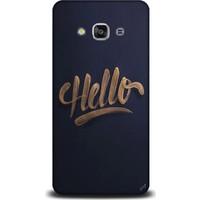 Exclusive Samsung J3 2017 Hello Design Kapak