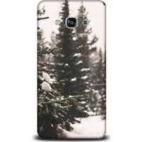 Exclusive Samsung J3 2017 Karlı Çam Ağacı Design Kapak