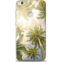 Exclusive Huawei P9 Lite 2017 Palmiye Ağaçları Design Kapak
