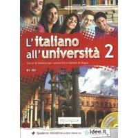 L' İtaliano All' Università 2 +Cd (B1-B2)