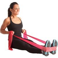 MSD Egzersiz ve Pilates Bandı Thera Band Kırmızı 120 cm