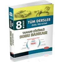 8. Sınıf Tüm Dersler Özel Tek Kitap Tamamı Çözümlü Soru Bankası