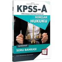 657 Yayınevi 2018 Kpss A Grubu Borçlar Hukuku Açıklamalı Soru Bankası