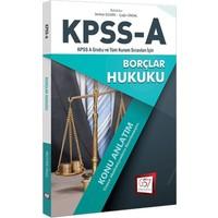 657 Yayınevi 2018 Kpss A Grubu Tüm Kurum Sınavları İcin Borçlar Hukuku Konu Anlatım