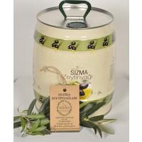 Oleika Soğuk Sıkım 0.1 Asit Özel Hasat Doğal Sızma Zeytinyağı 5 lt Fıçı – (Yeni Hasat) Mudanya