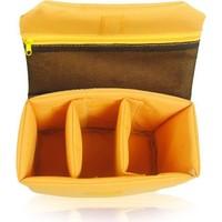 Muchuan Kamera Çanta Düzenleyici Bölme Sarı
