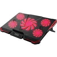 Inca INC-611 GMS Arrax Gaming 5x Fan 6 Kademeli 2xUSB Notebook Soğutucu