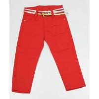 Lopez Şeffaf Kemerli Kot Pantolon