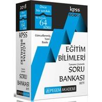 2018 Kpss Eğitim Bilimleri Tamamı Çözümlü Modüler Soru Bankası Seti : 6 Kitap
