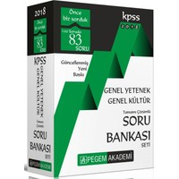 2018 Kpss Genel Yetenek Genel Kültür Tamamı Çözümlü Soru Bankası Seti (5 Kitap)