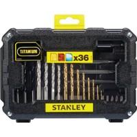 Stanley STA7222 36 Parça Vidalama ve Matkap Uç Seti