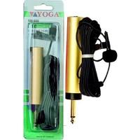 Yoga EM 020 Metal Sabit Klipsli Yaka Mikrofonu
