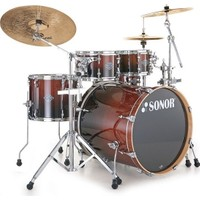 SONOR - ESF 11 Studio Drum Brownfade