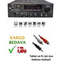 Osawa HD-504U 40-Watt USB li Florasan Grafik Ekranlı Amfi