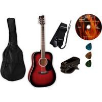 Jay Turser JJ 45 PAK RSB Akustik Gitar