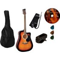 Jay Turser JJ 45 PAK TSB Akustik Gitar