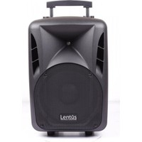 Lentus LNT-P-12 EL 12 inch 50/150 Watt Akülü Taşınabilir Ses Sistemi