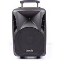 Lentus LNT-P-120 EL 12 inch 150/300 Watt Akülü Taşınabilir Ses Sistemi