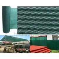 Badem10 Gölgelik Branda Yeşil Kumaş Gölgelik File %75 En 4X10 Metre