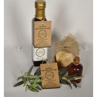 Oleika Soğuk Sıkım 0.1 Asit Özel Hasat Doğal Sızma Zeytinyağı–Kantaron Yağı- Zeytinyağı Sabunu – (Yeni Hasat) Mudanya