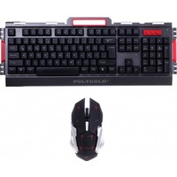 Polygold Kablosuz Gaming Klavye&Mouse Set
