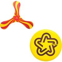 Tribord Zeruko Soft Bumerang Ve Frizbi Seti - Sarı