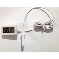 Curetech Köşe Teknoloji Curetech Ctd 12E Dijital Termometre Nem Ölçer Higrometre Problu