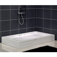 Shower Dikdörtgen Duş Teknesi(Panelli) 100*140