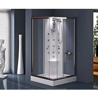 Shower Madelon Şok Duş Sistemi Siyah