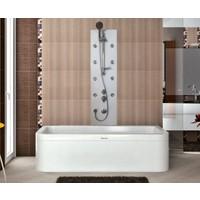 Shower Carolıno Şok Duş Sistemi Beyaz