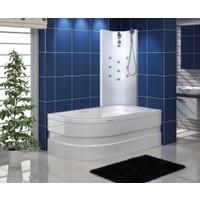Shower Capua Şok Duş Sistemi Beyaz