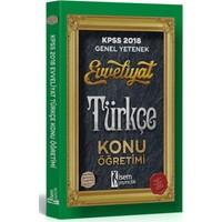 İsem Yayıncılık Evveliyat Kpss Türkçe Konu Anlatımlı 2018