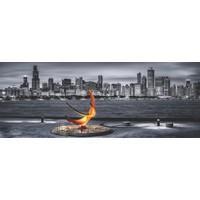 Puzz (34x96 cm) 1000'li Panoramik Yapboz Chicago