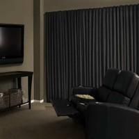 Brillant Blackout Karartma Güneşlik Perde Pilesiz V - 6 Koyu Gri - 125x200 cm