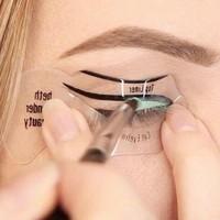 Fixliner Göz Eyesi - Eyeliner Şablonu