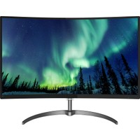 "Philips 328E8QJAB5/00 31.5"" 5ms (Analog+Display+HDMI) Full HD IPS Curved Monitör"