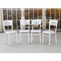 Remaks Remaks Okyanus Sandalye Takım Beyaz