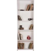 Remaks 5 Raflı Kitaplık Beyaz